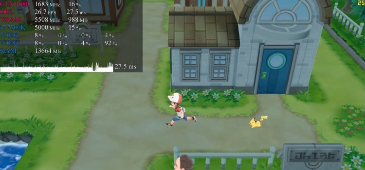 pokemon let's go pikachu emulatore pc