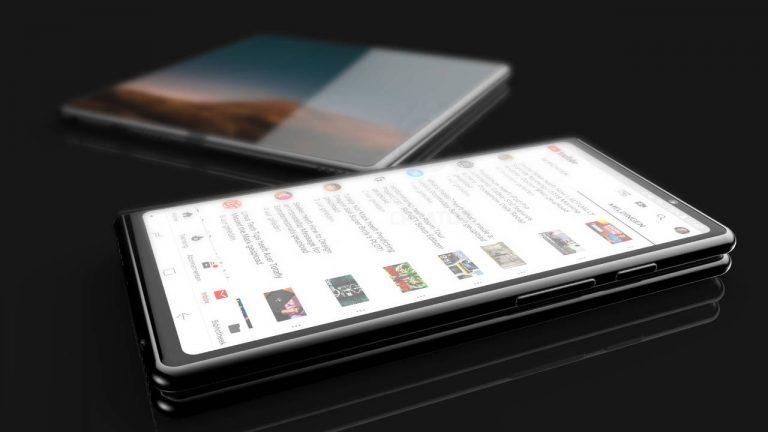 samsung galaxy f smartphone pieghevole