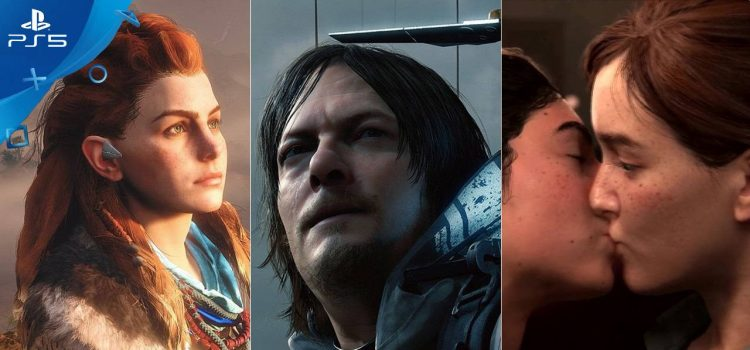 sony playstation 5 horizon 2 death stranding the last of us 2