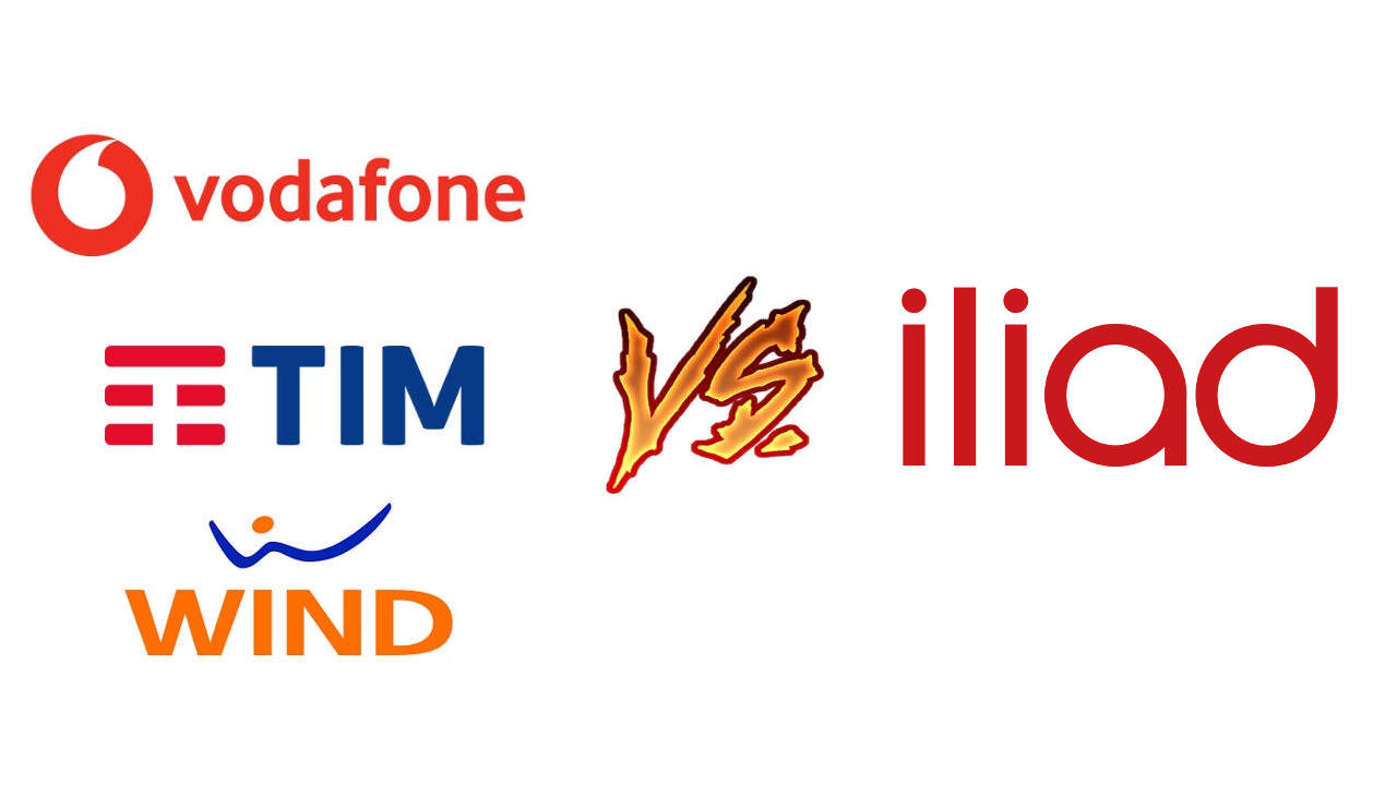 vodafone tim wind vs iliad