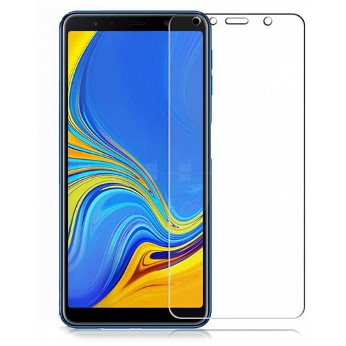 Naxtop Simple Tempered Glass Flim for Samsung Galaxy A7 2018