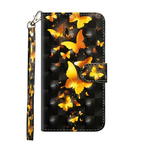 3D Color Painting Case for Samsung Galaxy A9 2018 Flip Wallet Cover