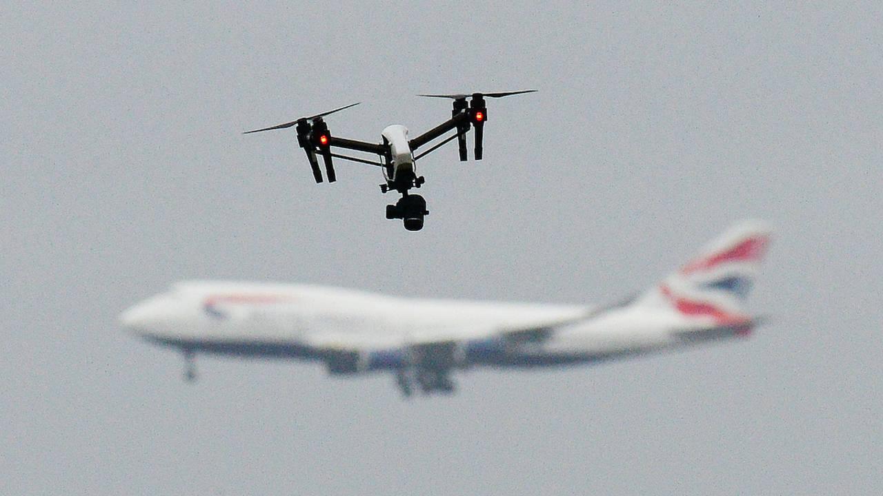 air drone airport