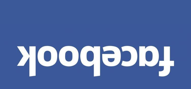Facebook para baixo