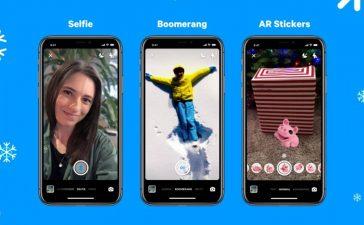 facebook messenger boomerang selfie sticker ar