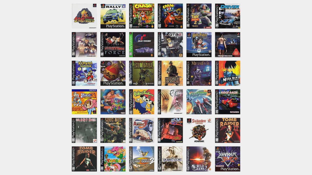 playstation classic lista giochi nascosti