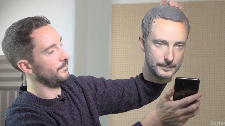 riconoscimento facciale 3d
