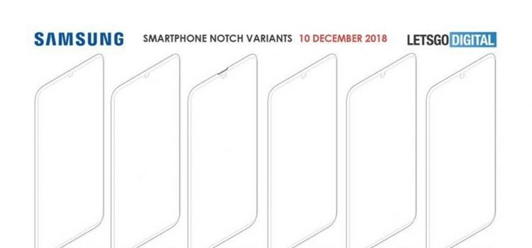 samsung notch brevetto
