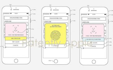 Touch Id Face ID Apple Watch Patente