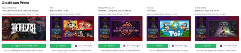 twitch amazon prime giochi gratis