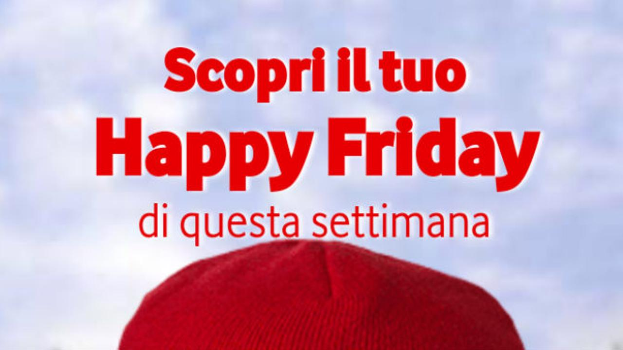 Vodafone Happy Friday logo
