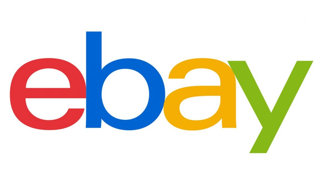 banner do logotipo do eBay