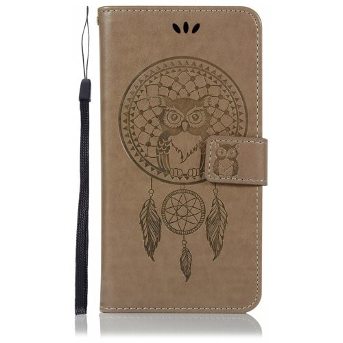 Owl Wallet PU Flip Leather Cover for Samsung Galaxy A9 Star Lite Case