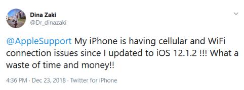 twitter iphone non funzionante