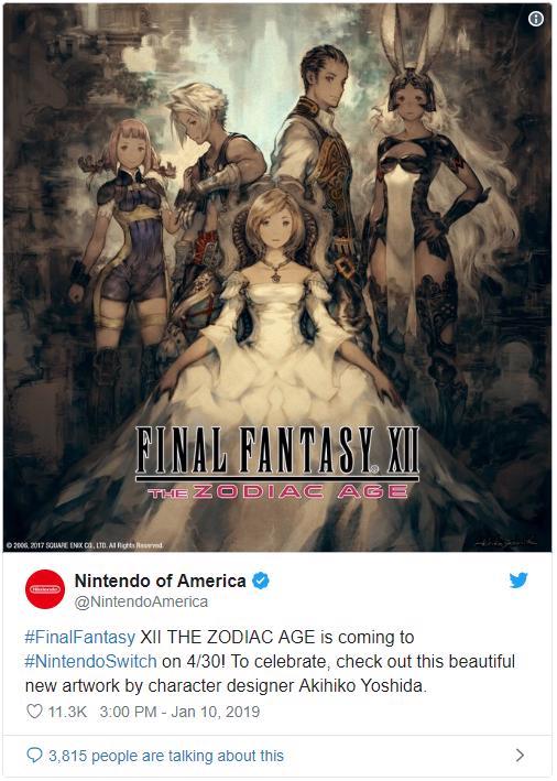 final fantasy xii twitter