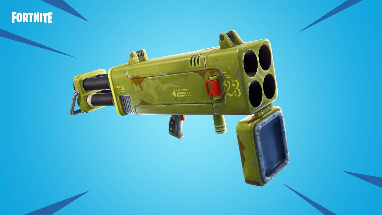 fortnite content update 7.20 quad launcher