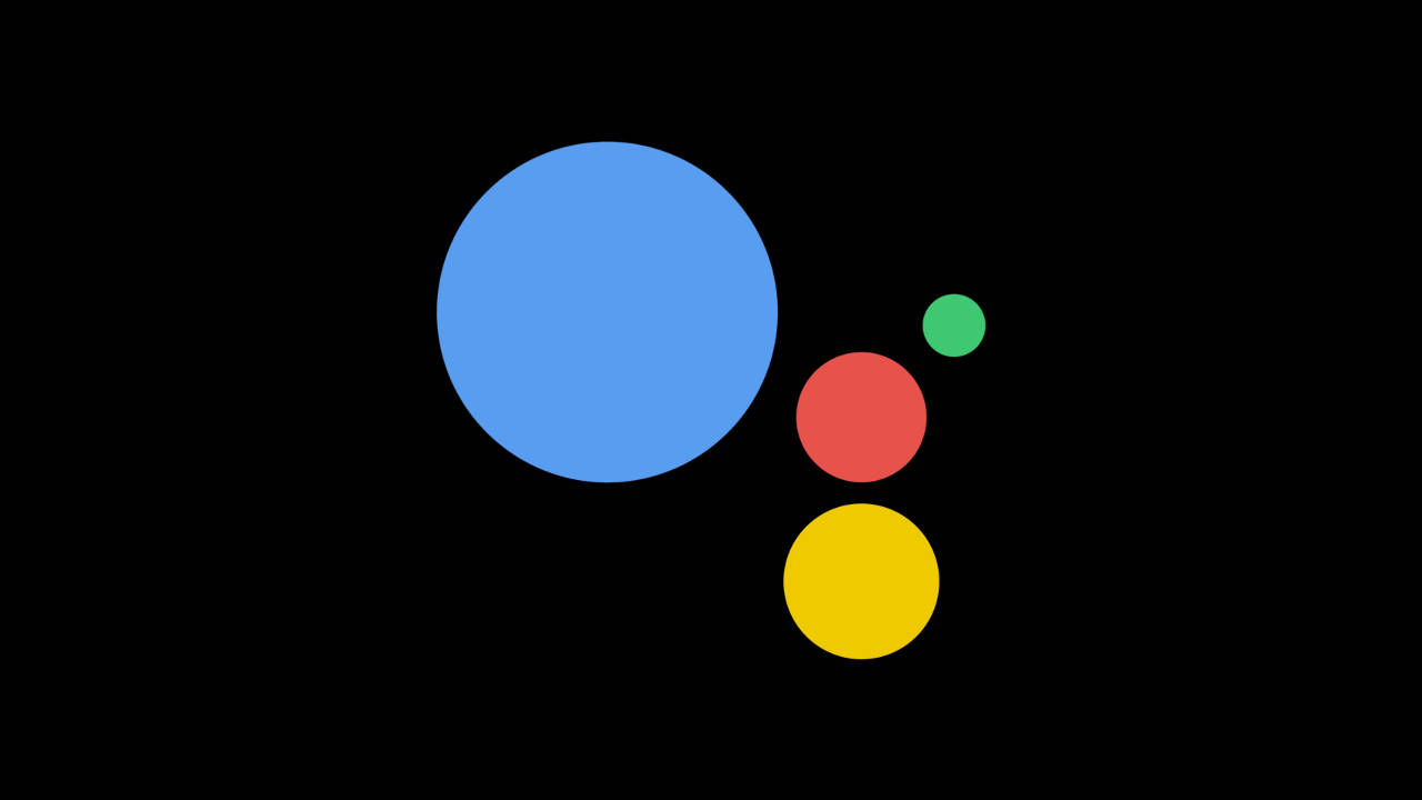 google assistant tema scuro