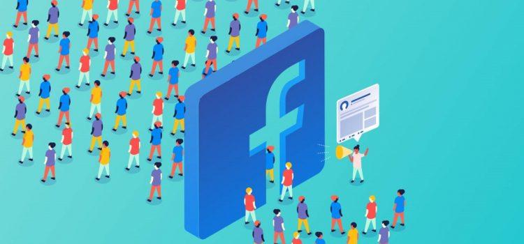 logotipo de grupos do facebook