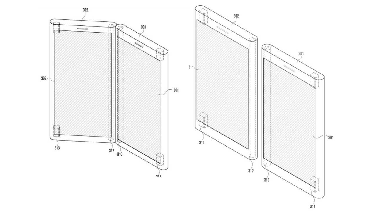 samsung due display brevetto