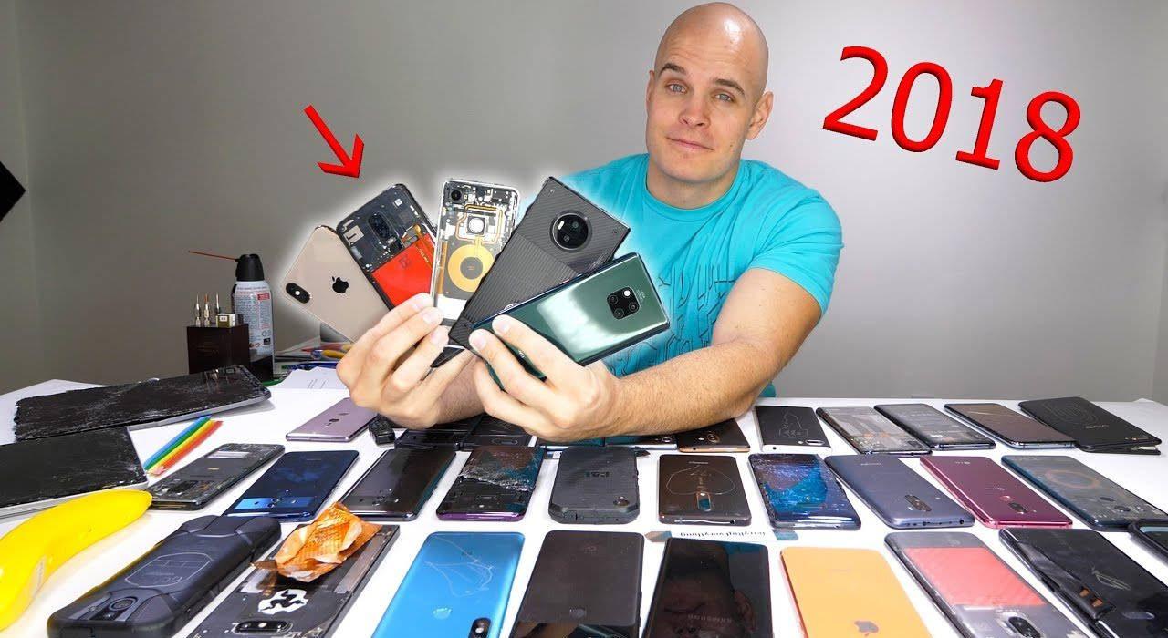 smartphone più resistenti 2018 jerryrigeverything