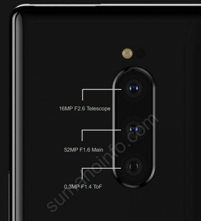 Sony Xperia XZ4 triple cámara