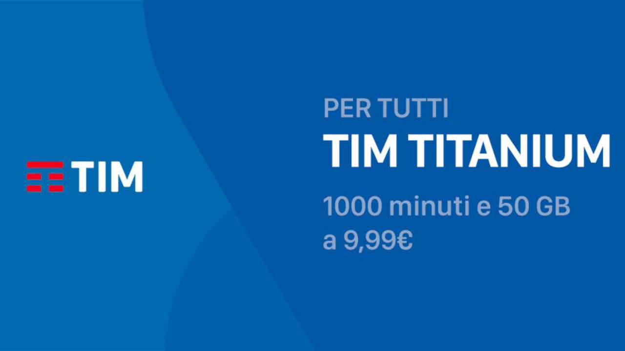 TIM lancia la Titanium GO contro Iliad e ho.Mobile: minuti, SMS illimitati e 50 GB a 9,99 euro