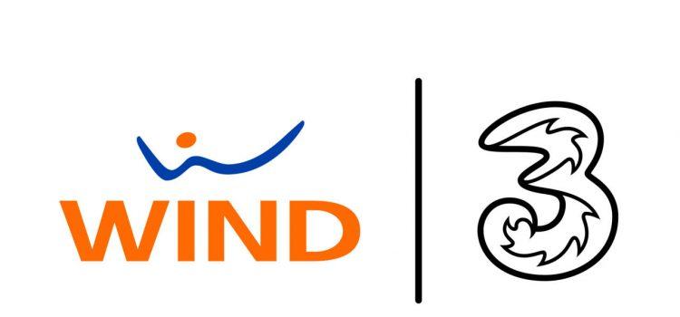 wind tre italia logo