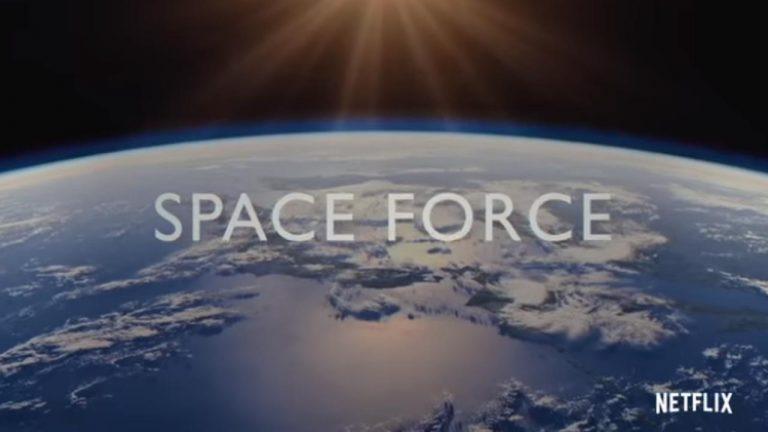 força do espaço netflix