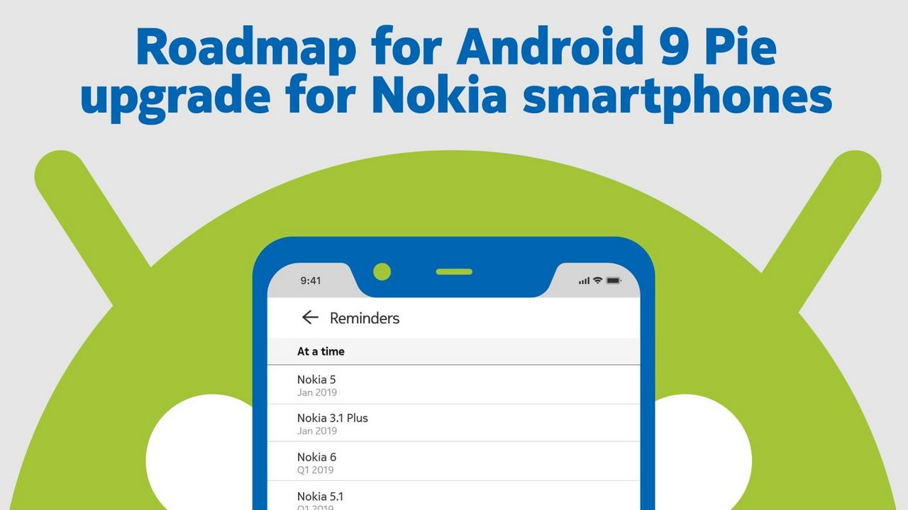 nokia android 9 pie