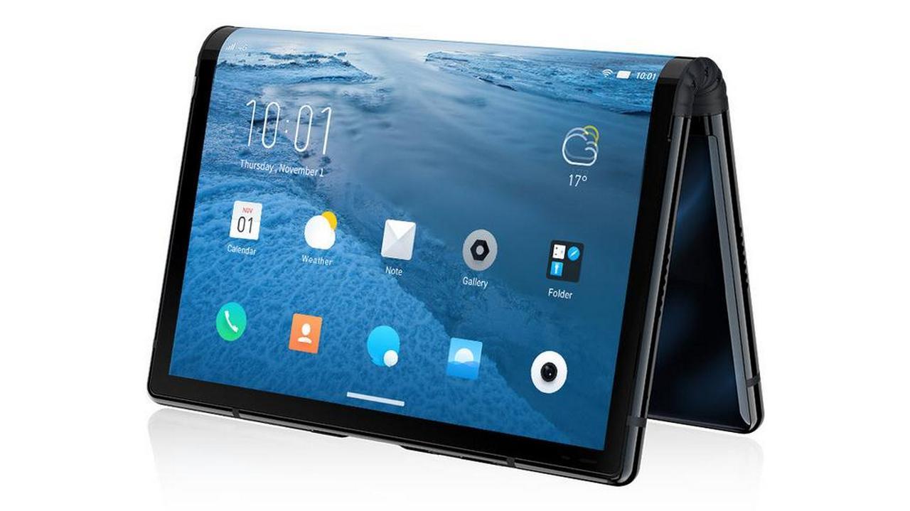 royole flexpai smartphone pieghevole