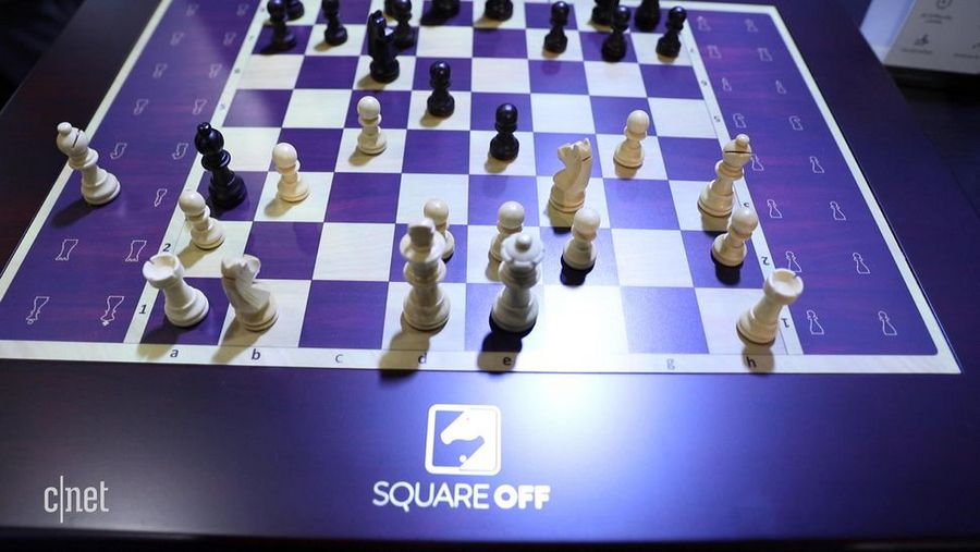 square off scacchiera robotica harry potter