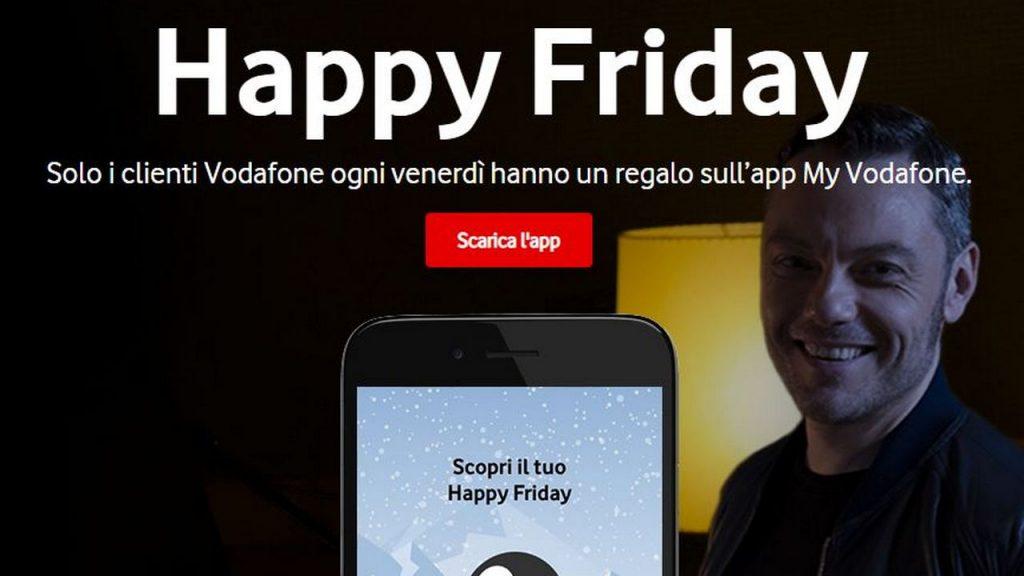 Vodafone Happy Friday 25 gennaio