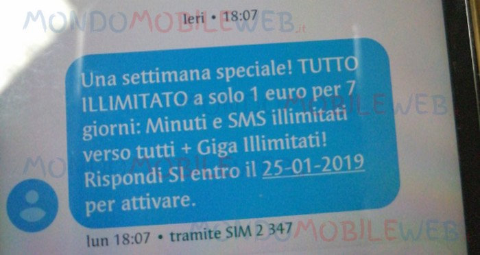 vodafone tutto illimitato