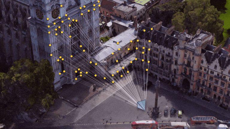 google maps fotocamera