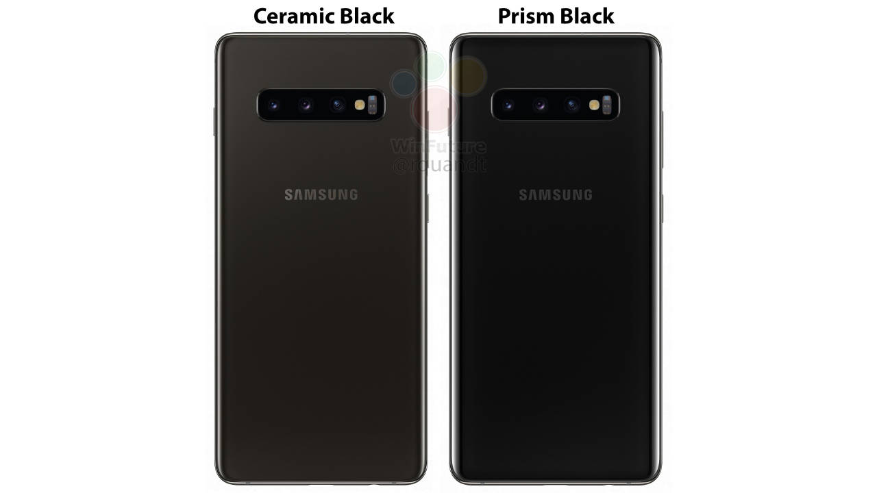Samsung Galaxy S10 ceramic