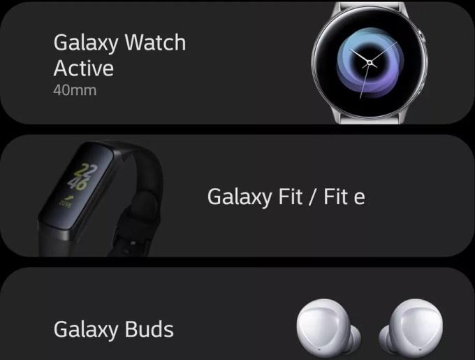 Samsung Galaxy horloge actief