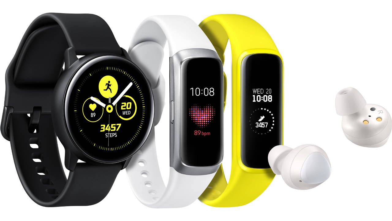 samsung galaxy watch galaxy fit galaxy buds