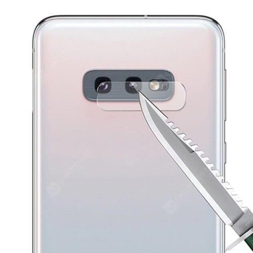 Protector de pantalla y cristal templado para cámara 5D para Samsung Galaxy S10E / S10 Lite