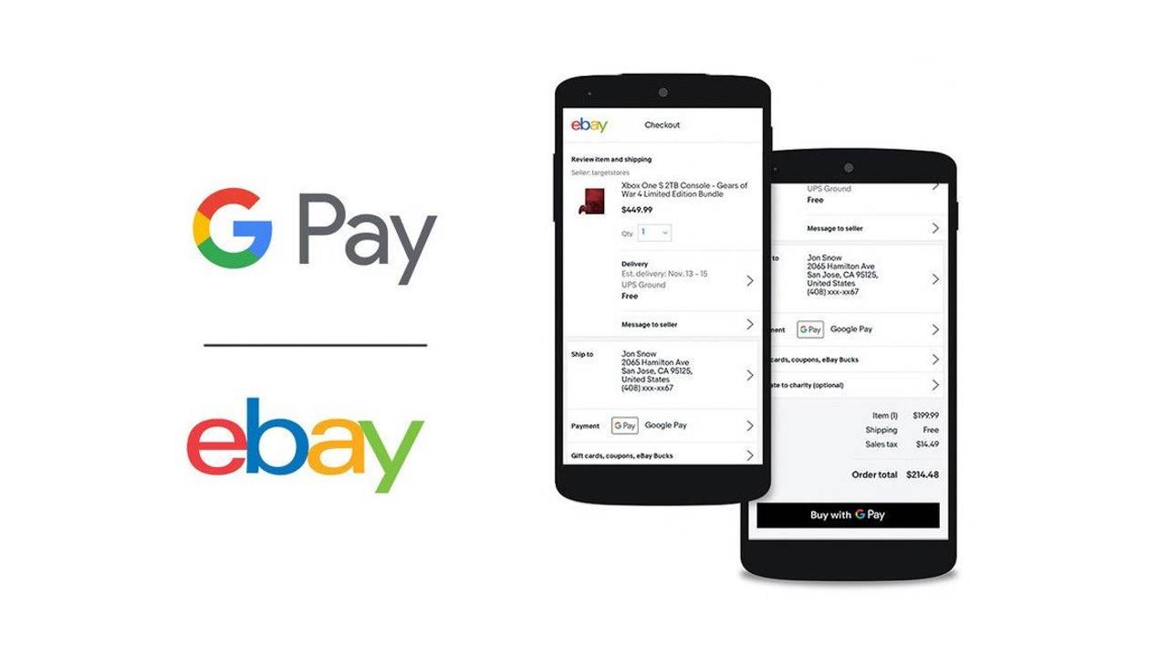 google pay ebay