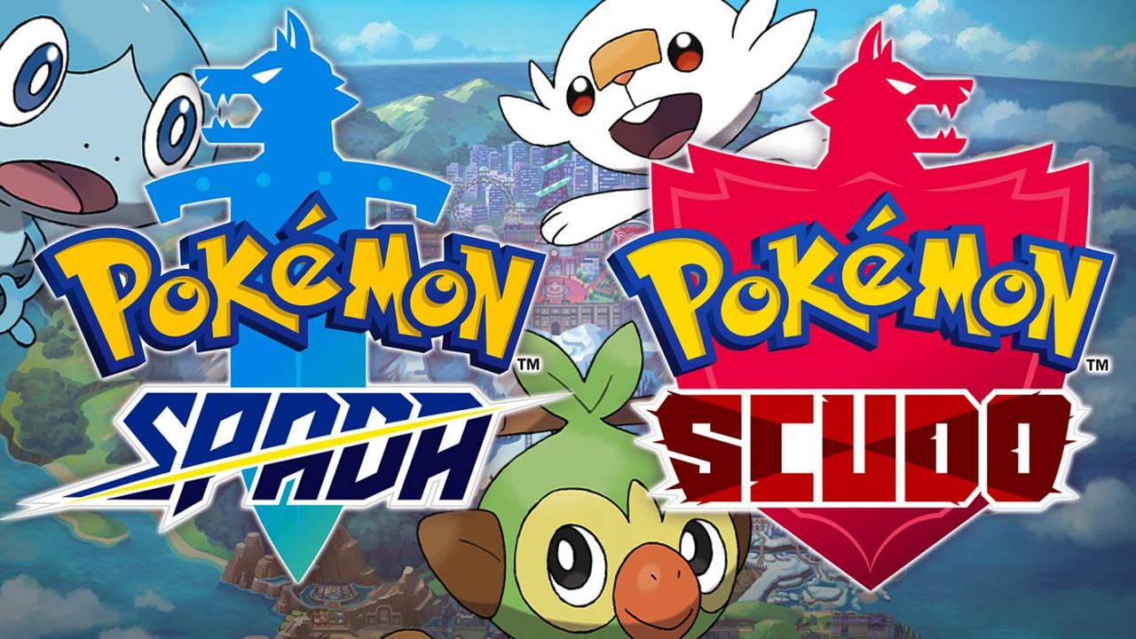 Escudo de espada de Pokémon