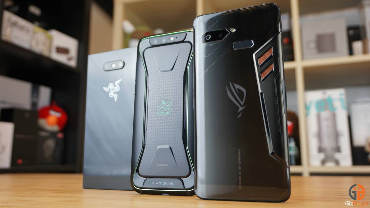 Razer Phone 2 vs ASUS ROG Phone vs Black Shark: what is the