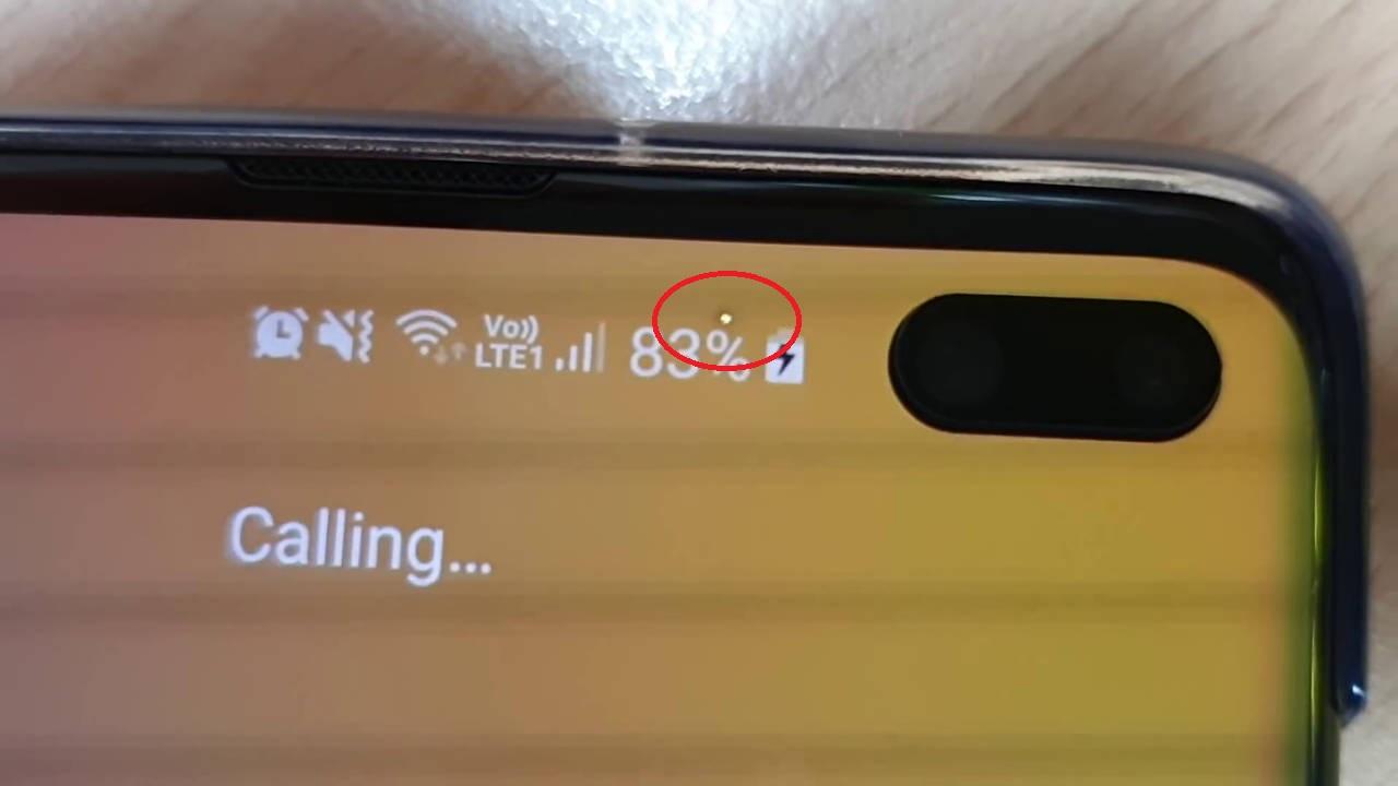 Samsung Galaxy s10 pixel morti