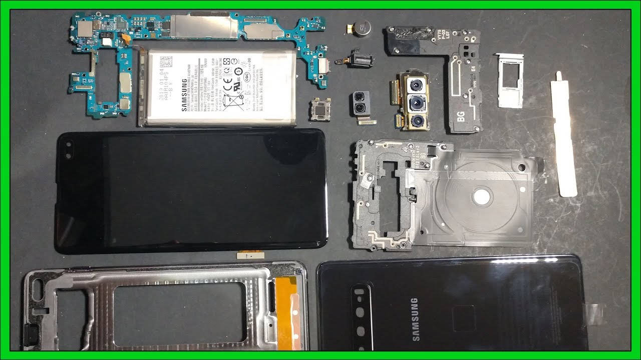 samsung galaxy s10 plus teardown