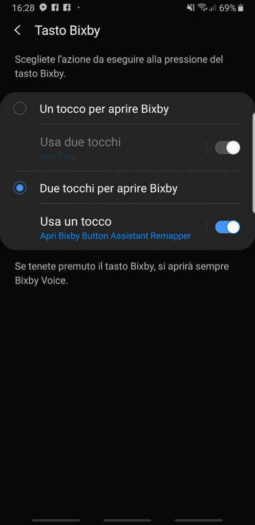 How to associate Google Assistant with the Bixby button of