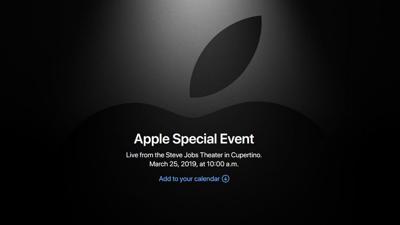 apple evento 25 marzo