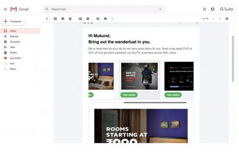 gmail amp google