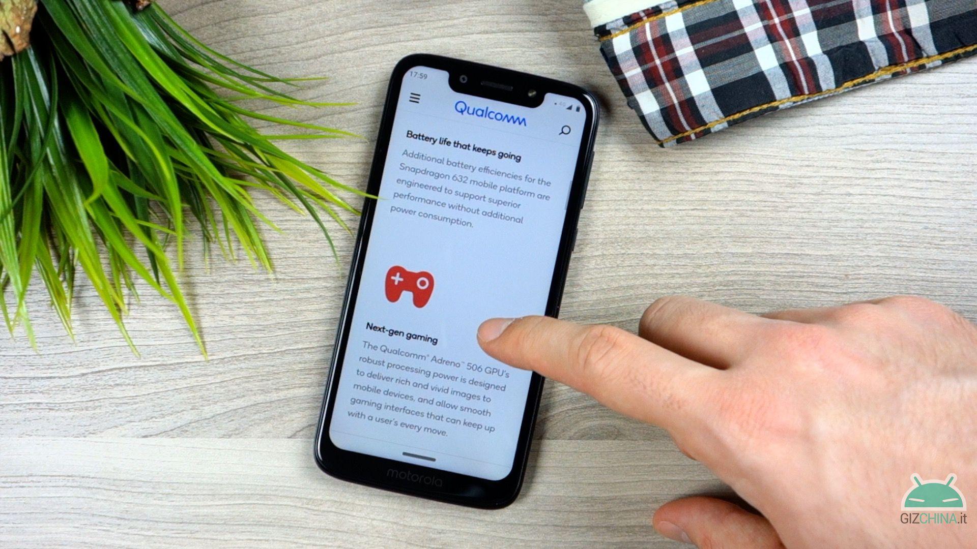 Motorola Moto G7 Juego