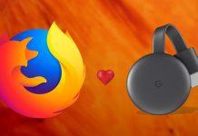 Mozel Firefox Chromecast