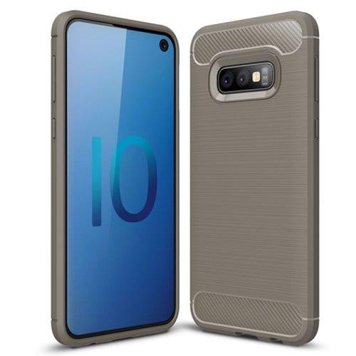 Shockproof Back Cover Carbon Fiber Case for Samsung Galaxy S10e