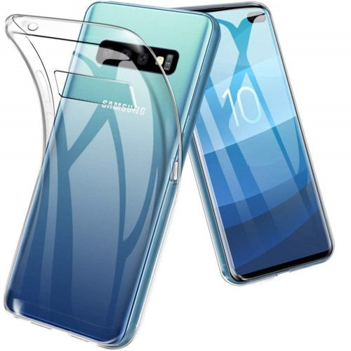 Transparent Soft TPU Case Cover for Samsung Galaxy S10 Plus